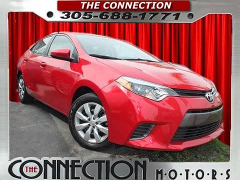 2016 Toyota Corolla for sale in Hialeah, FL