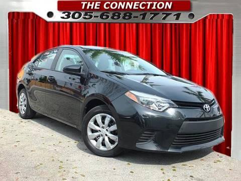 2014 Toyota Corolla for sale in Hialeah, FL