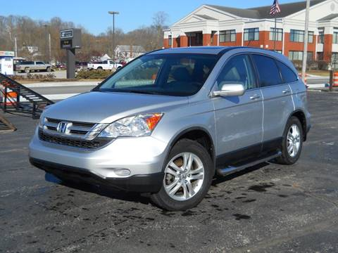 2010 Honda CR-V for sale at BARKER AUTO EXCHANGE in Spencer IN