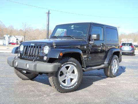 2015 Jeep Wrangler for sale in Spencer, IN
