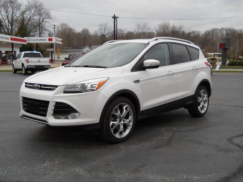 2014 Ford Escape Titanium In Spencer, IN - BARKER AUTO EXCHANGE