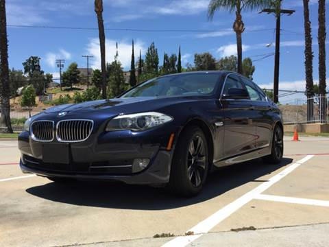 2011 BMW 5 Series for sale at Iconic Coach in San Diego CA