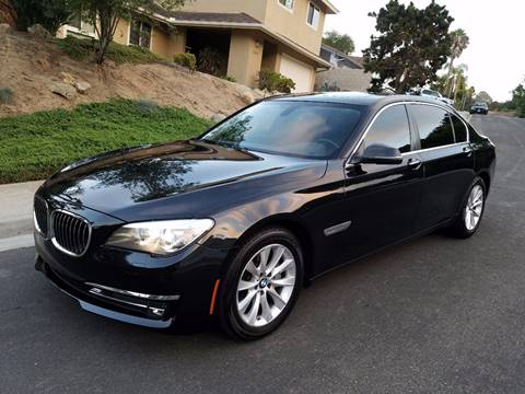 2015 BMW 7 Series for sale at Iconic Coach in San Diego CA