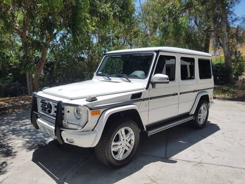 2014 Mercedes-Benz G-Class for sale at Iconic Coach in San Diego CA