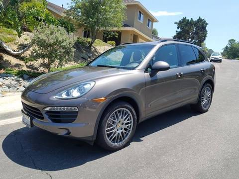2012 Porsche Cayenne for sale at Iconic Coach in San Diego CA