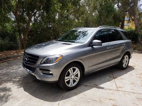 2014 Mercedes-Benz M-Class for sale at Iconic Coach in San Diego CA