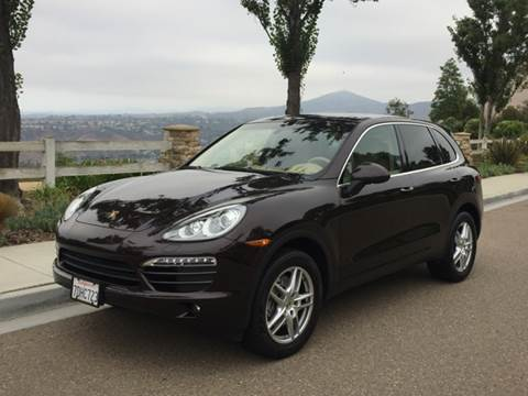 2014 Porsche Cayenne for sale at Iconic Coach in San Diego CA