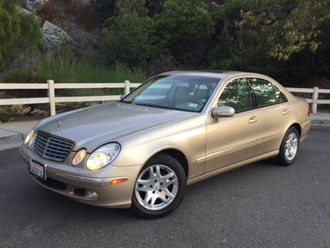 2003 Mercedes-Benz E-Class for sale at Iconic Coach in San Diego CA