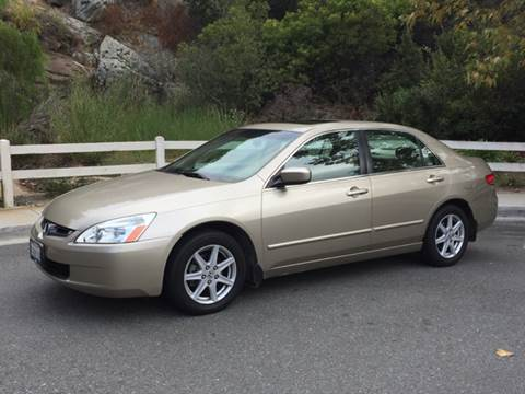 2003 Honda Accord for sale at Iconic Coach in San Diego CA