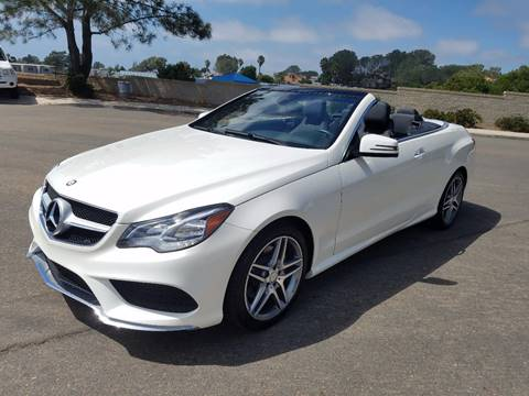 2016 Mercedes-Benz E-Class for sale at Iconic Coach in San Diego CA