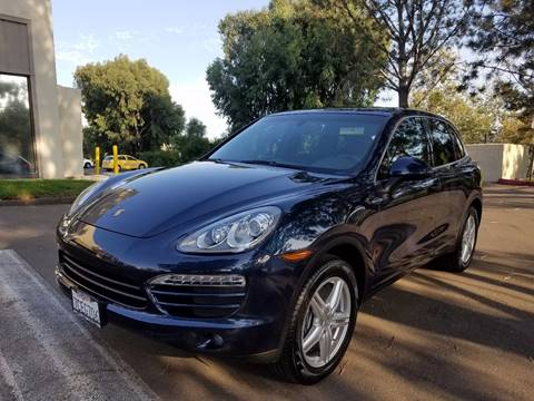 2013 Porsche Cayenne for sale at Iconic Coach in San Diego CA