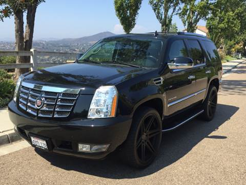 2010 Cadillac Escalade for sale at Iconic Coach in San Diego CA