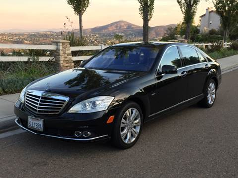 2010 Mercedes-Benz S-Class for sale at Iconic Coach in San Diego CA