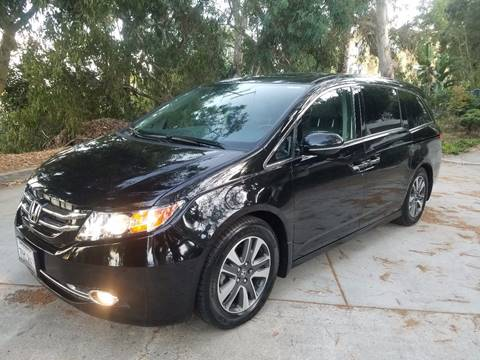 2015 Honda Odyssey for sale at Iconic Coach in San Diego CA