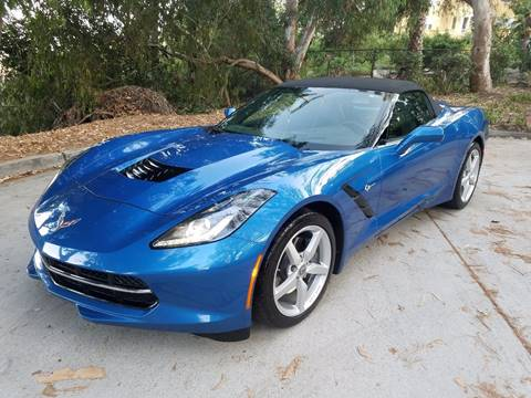 2014 Chevrolet Corvette for sale at Iconic Coach in San Diego CA