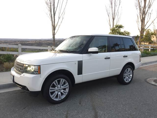 2010 Land Rover Range Rover for sale at Iconic Coach in San Diego CA