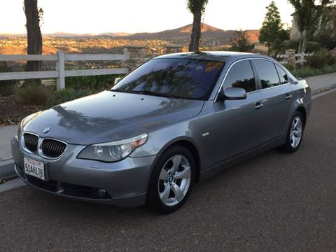 2006 BMW 5 Series for sale at Iconic Coach in San Diego CA