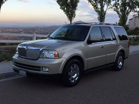 2006 Lincoln Navigator for sale at Iconic Coach in San Diego CA