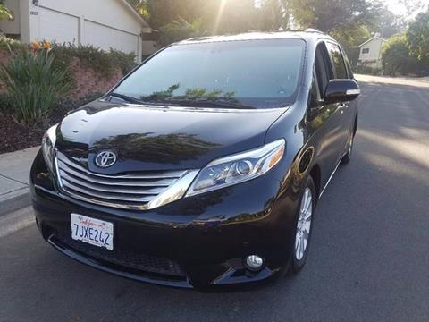 2015 Toyota Sienna for sale at Iconic Coach in San Diego CA