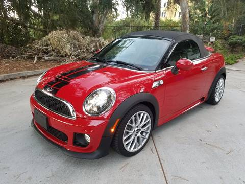 2015 MINI Roadster for sale at Iconic Coach in San Diego CA