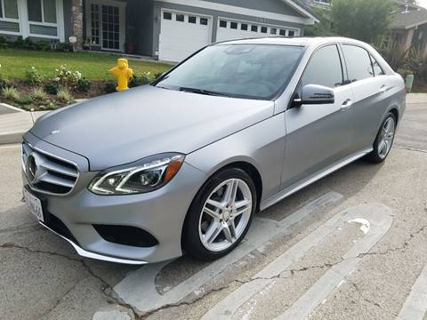 2014 Mercedes-Benz E-Class for sale at Iconic Coach in San Diego CA