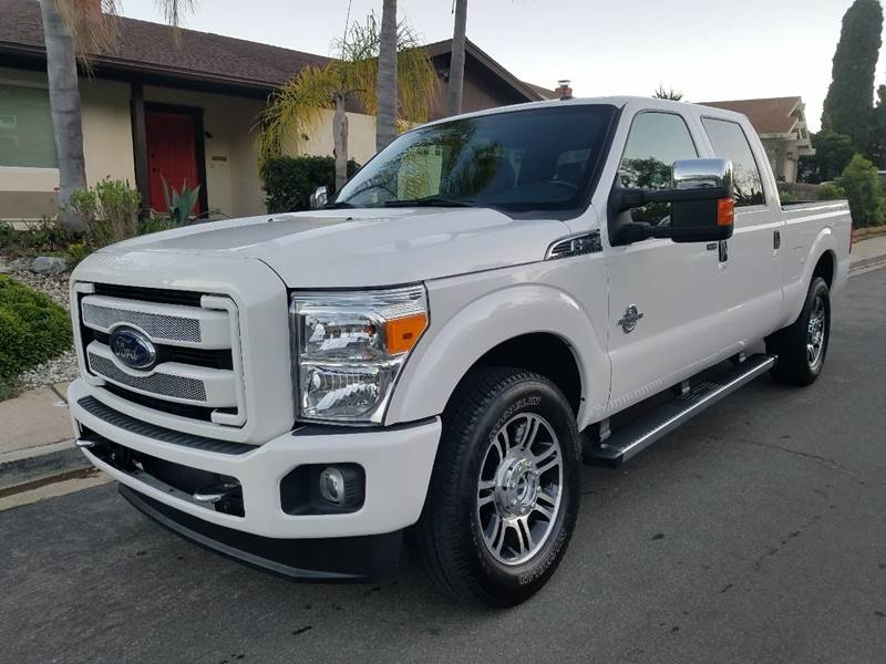 2016 ford f-250 super duty platinum in san diego ca - iconic coach