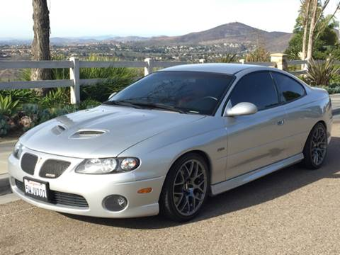 2006 Pontiac GTO for sale at Iconic Coach in San Diego CA
