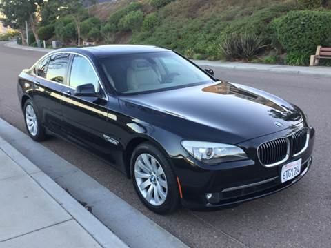 2011 BMW 7 Series for sale at Iconic Coach in San Diego CA