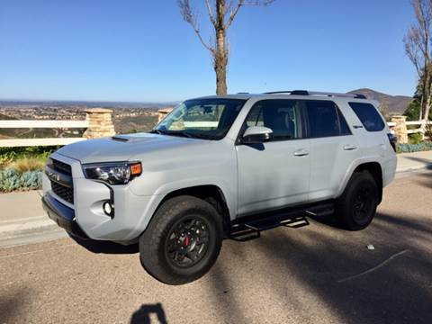 2017 Toyota 4Runner Trd Pro For Sale >> Toyota 4runner For Sale In San Diego Ca Iconic Coach