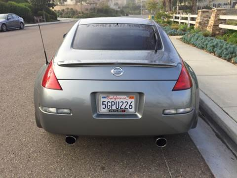2004 Nissan 350Z for sale at Iconic Coach in San Diego CA