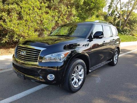 2011 Infiniti QX56 for sale at Iconic Coach in San Diego CA