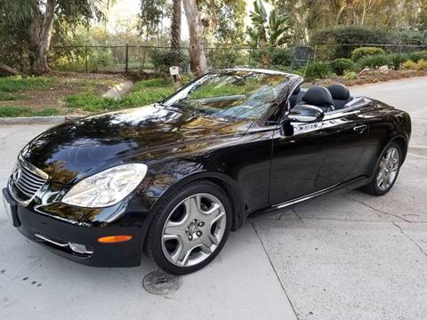 2008 Lexus SC 430 for sale at Iconic Coach in San Diego CA