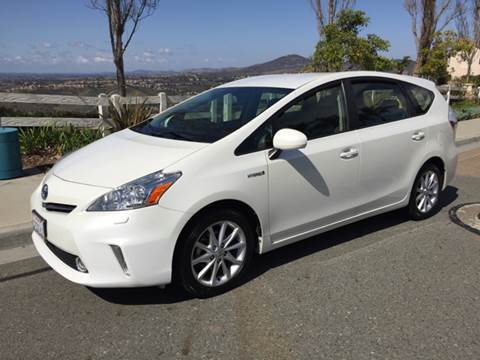 2014 Toyota Prius v for sale at Iconic Coach in San Diego CA
