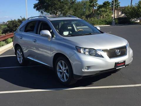 2010 Lexus RX 350 for sale at Iconic Coach in San Diego CA