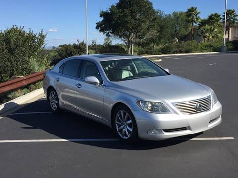 2007 Lexus LS 460 for sale at Iconic Coach in San Diego CA