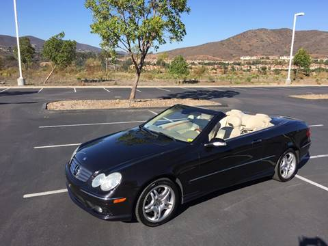 2004 Mercedes-Benz CLK500 for sale at Iconic Coach in San Diego CA