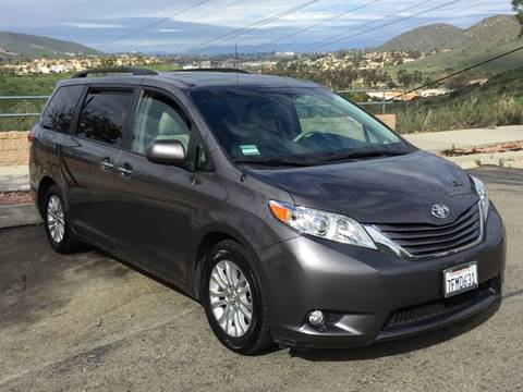 2014 Toyota Sienna for sale at Iconic Coach in San Diego CA