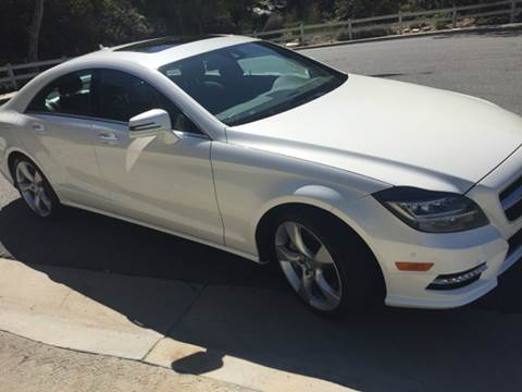 2014 Mercedes-Benz CLS for sale at Iconic Coach in San Diego CA
