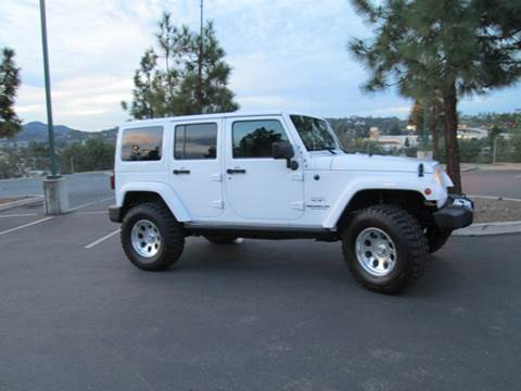 2016 Jeep Wrangler Unlimited for sale at Iconic Coach in San Diego CA