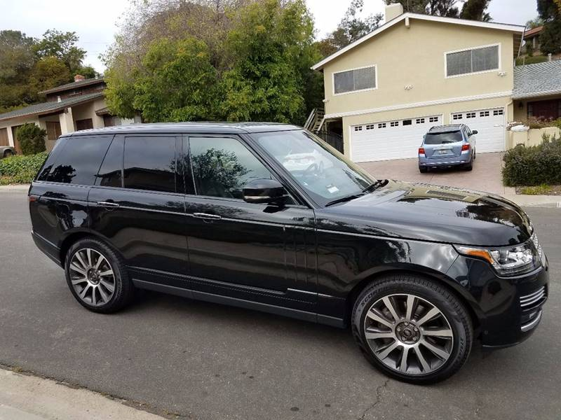 2014 Land Rover Range Rover for sale at Iconic Coach in San Diego CA