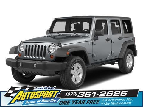 2014 Jeep Wrangler Unlimited for sale in Denville, NJ