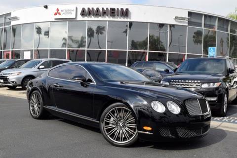 2008 Bentley Continental GT Speed for sale in Anaheim, CA