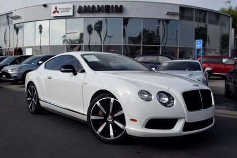 2014 Bentley Continental GT V8 S for sale in Anaheim, CA