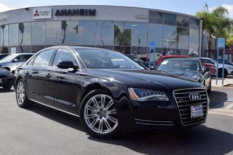 2014 Audi A8 L for sale in Anaheim, CA