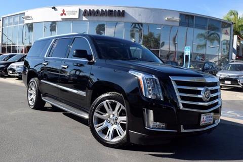 2015 Cadillac Escalade ESV for sale in Anaheim, CA