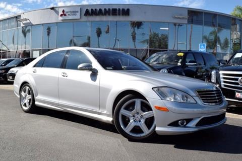 2009 Mercedes-Benz S-Class for sale in Anaheim, CA