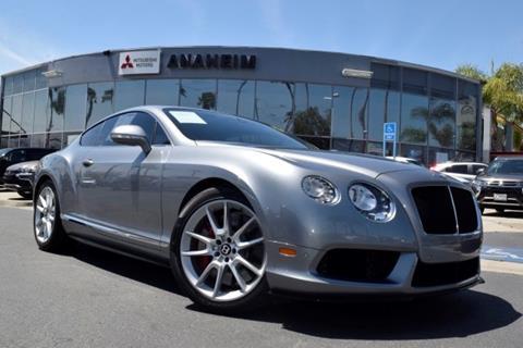 2014 Bentley Continental Gt V8 S For Sale In Tecumseh Mi