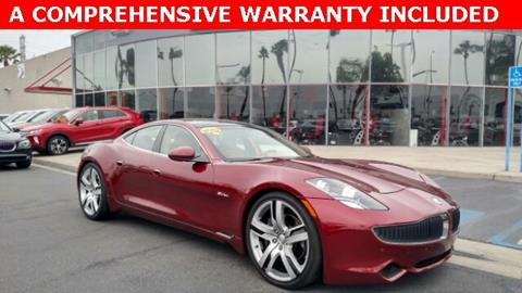 2012 Fisker Karma for sale in Anaheim, CA