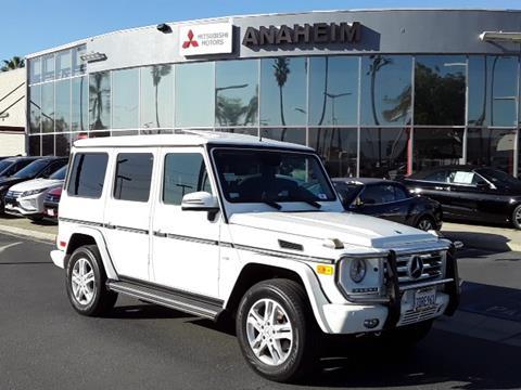 2014 Mercedes-Benz G-Class for sale in Anaheim, CA