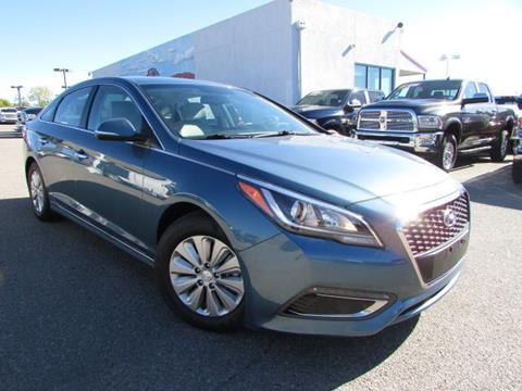 2016 Hyundai Sonata Hybrid for sale in Albuquerque, NM